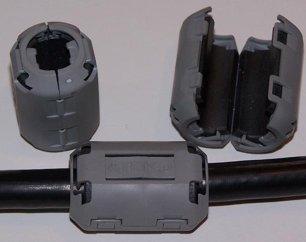 TOKIN ESD-SR-15 RFI EMI choke filter suppressor ferrite core RCT-2T