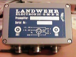 Landwehr mast mounted preamps